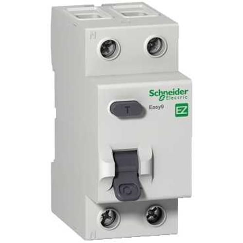УЗО 40A 100mA 4,5kA тип AC 2 полюса EZ9R54240 Easy9 Schneider Electric