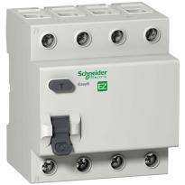 УЗО 63A 30mA 4,5kA тип AC 4 полюса EZ9R34463 Easy9 Schneider Electric